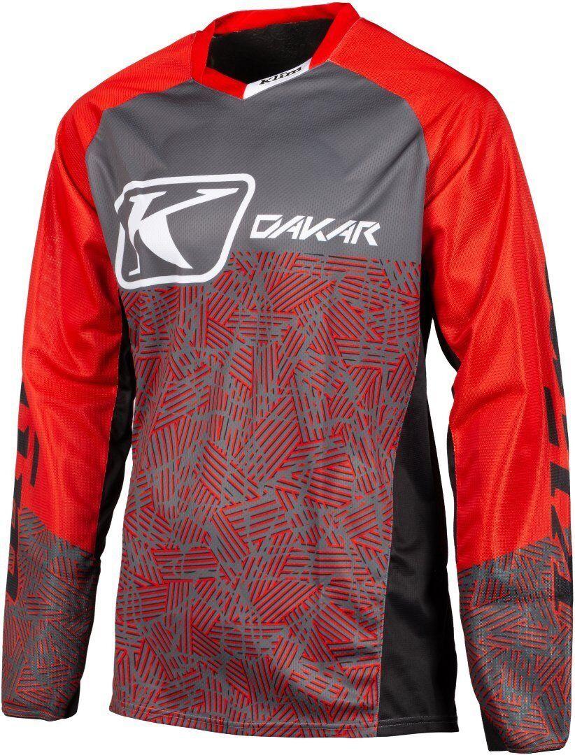 Klim Dakar 2019 Maillot Motocross Rouge taille : S