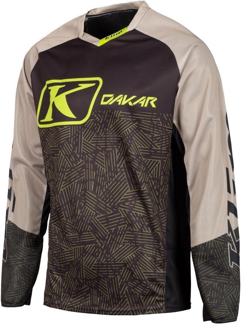 Klim Dakar 2019 Maillot Motocross Noir Brun taille : M