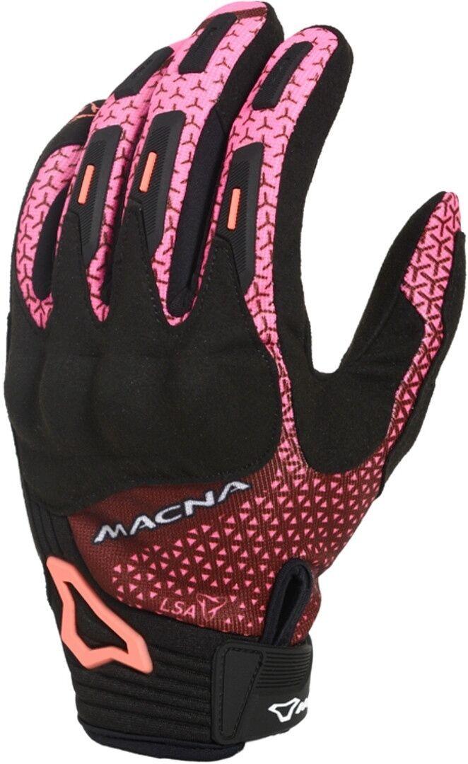 Macna Octar Mesdames les gants de moto Noir Rose taille : L
