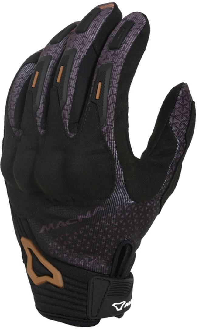 Macna Octar Mesdames les gants de moto Noir Brun taille : XL