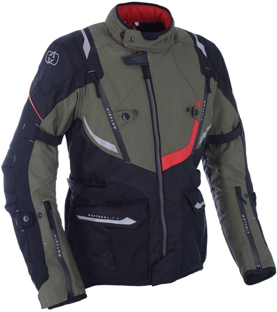Oxford Montreal 3.0 Veste textile de moto Vert taille : M