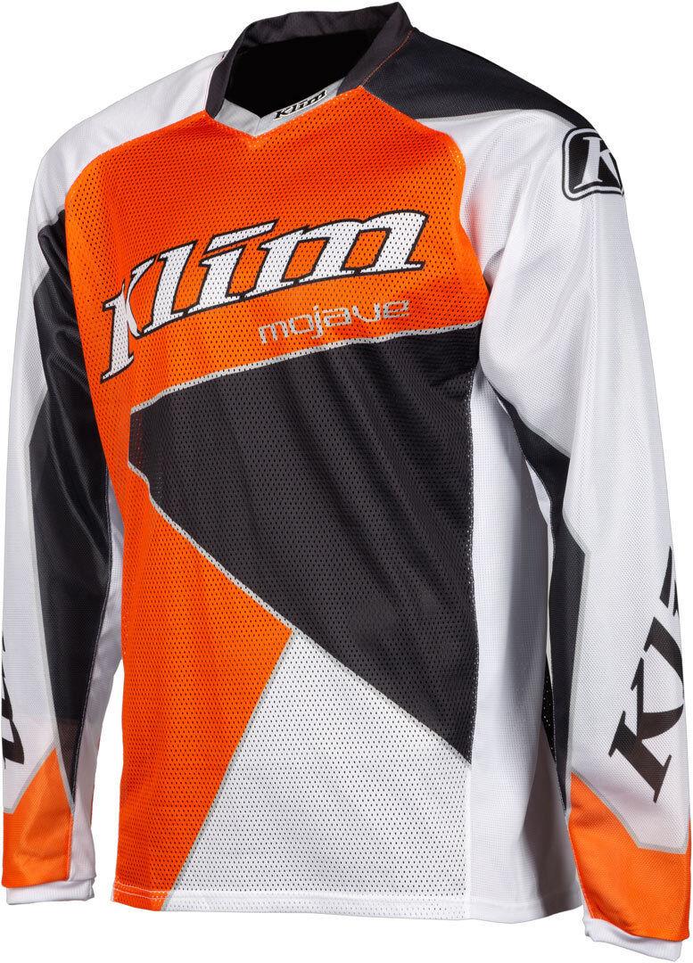 Klim Mojave 2019 Maillot Motocross Gris Orange taille : S
