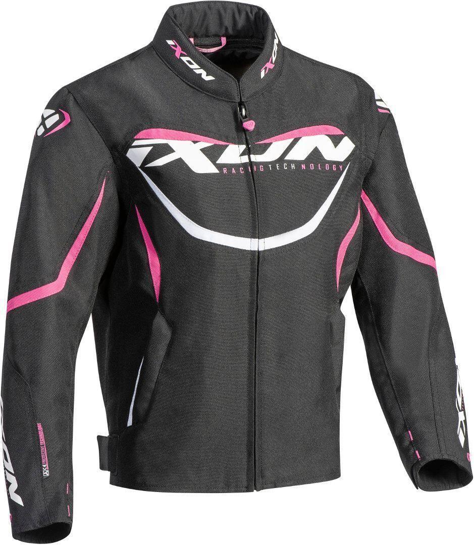 Ixon Sprinter Veste de Textile enfants dames Noir Rose taille : XL