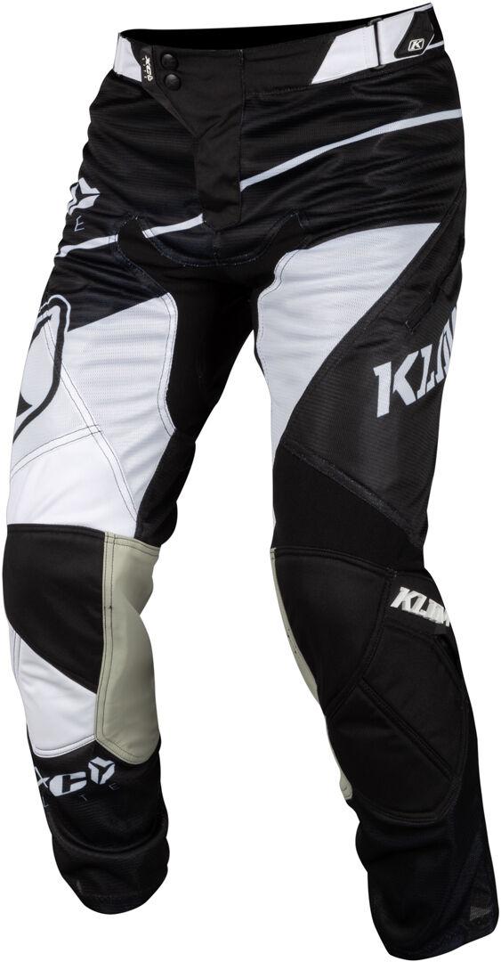 Klim XC Lite 2019 Pantalon Motocross Noir Blanc taille :