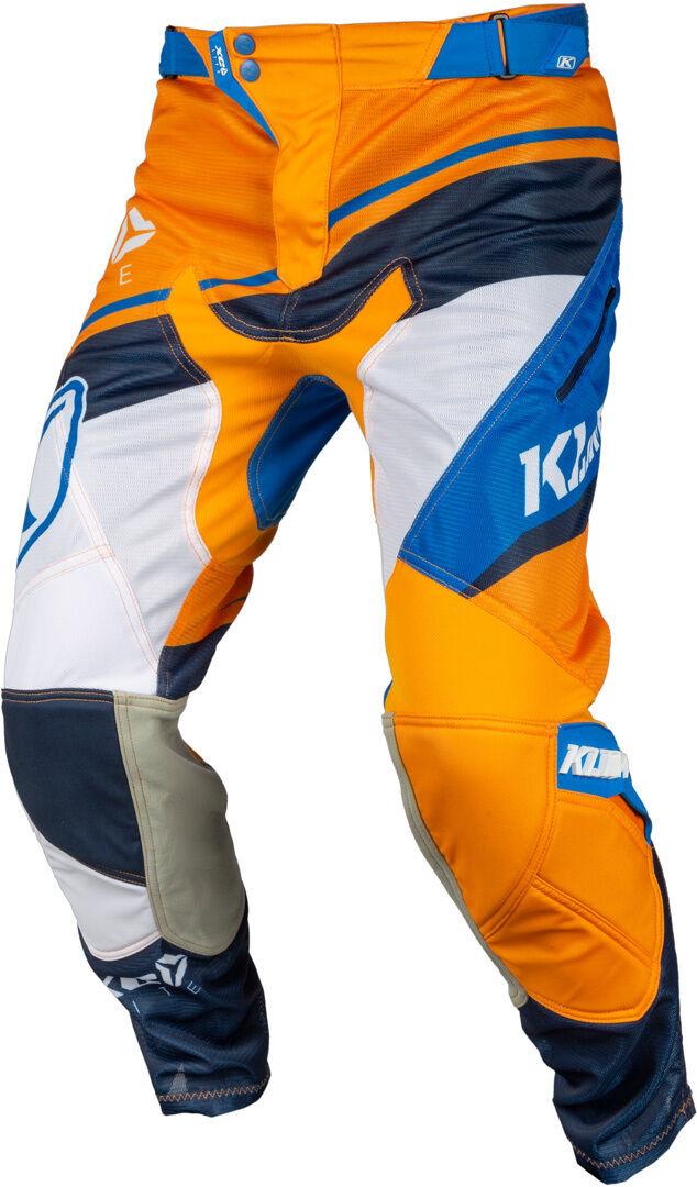 Klim XC Lite 2019 Pantalon Motocross Bleu Orange taille : 28