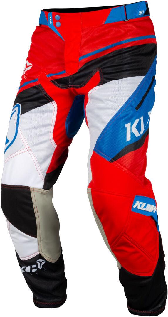 Klim XC Lite 2019 Pantalon Motocross Rouge Bleu taille : 26