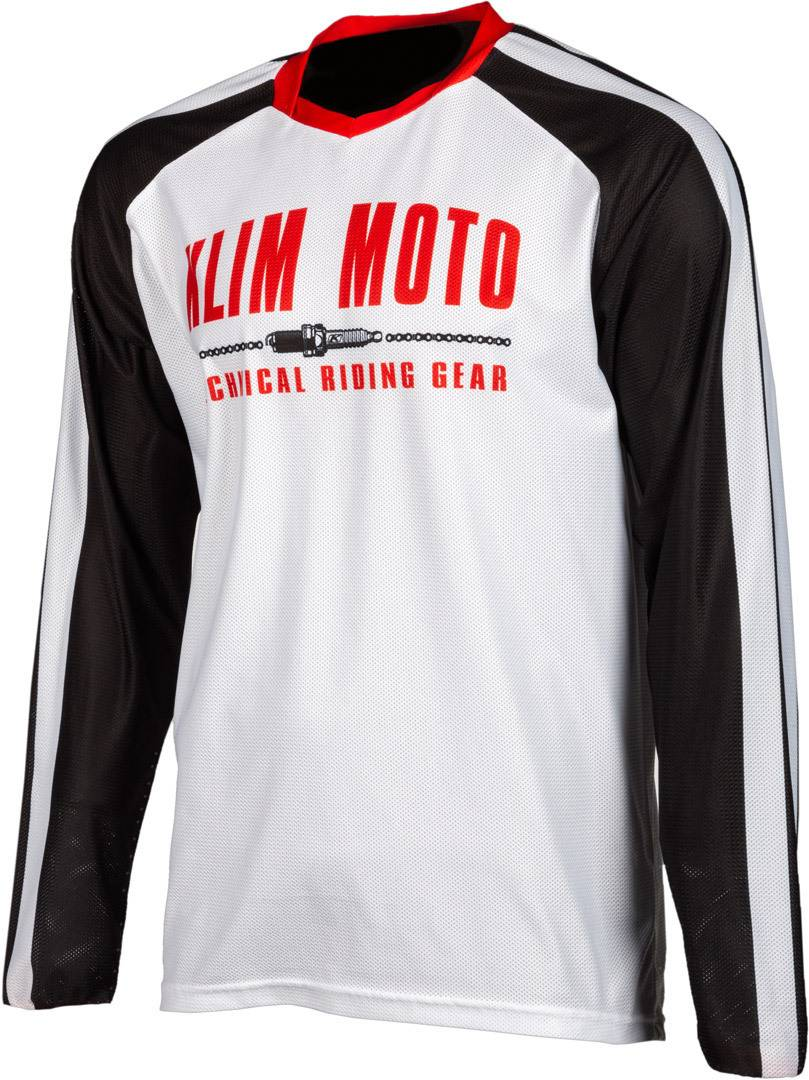 Klim Petrol 99 Maillot Motocross Rouge taille : 2XL