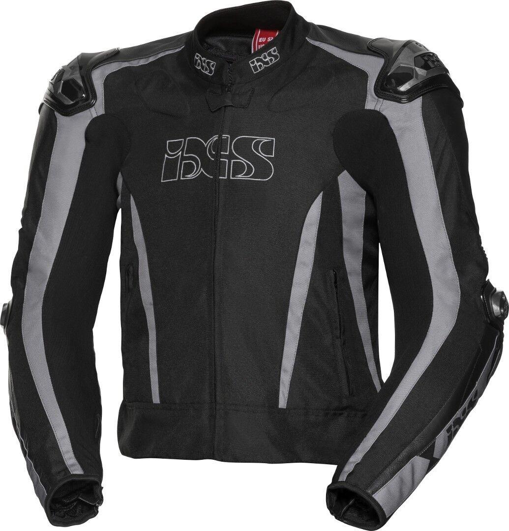 IXS Sport LT RS-1000 Veste textile de moto Noir Gris taille : 50
