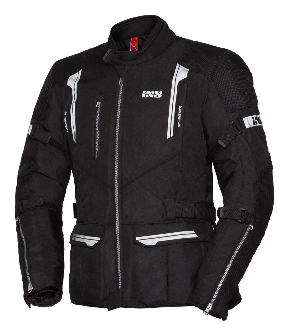 IXS Tour ST Veste Textile moto Noir taille : L