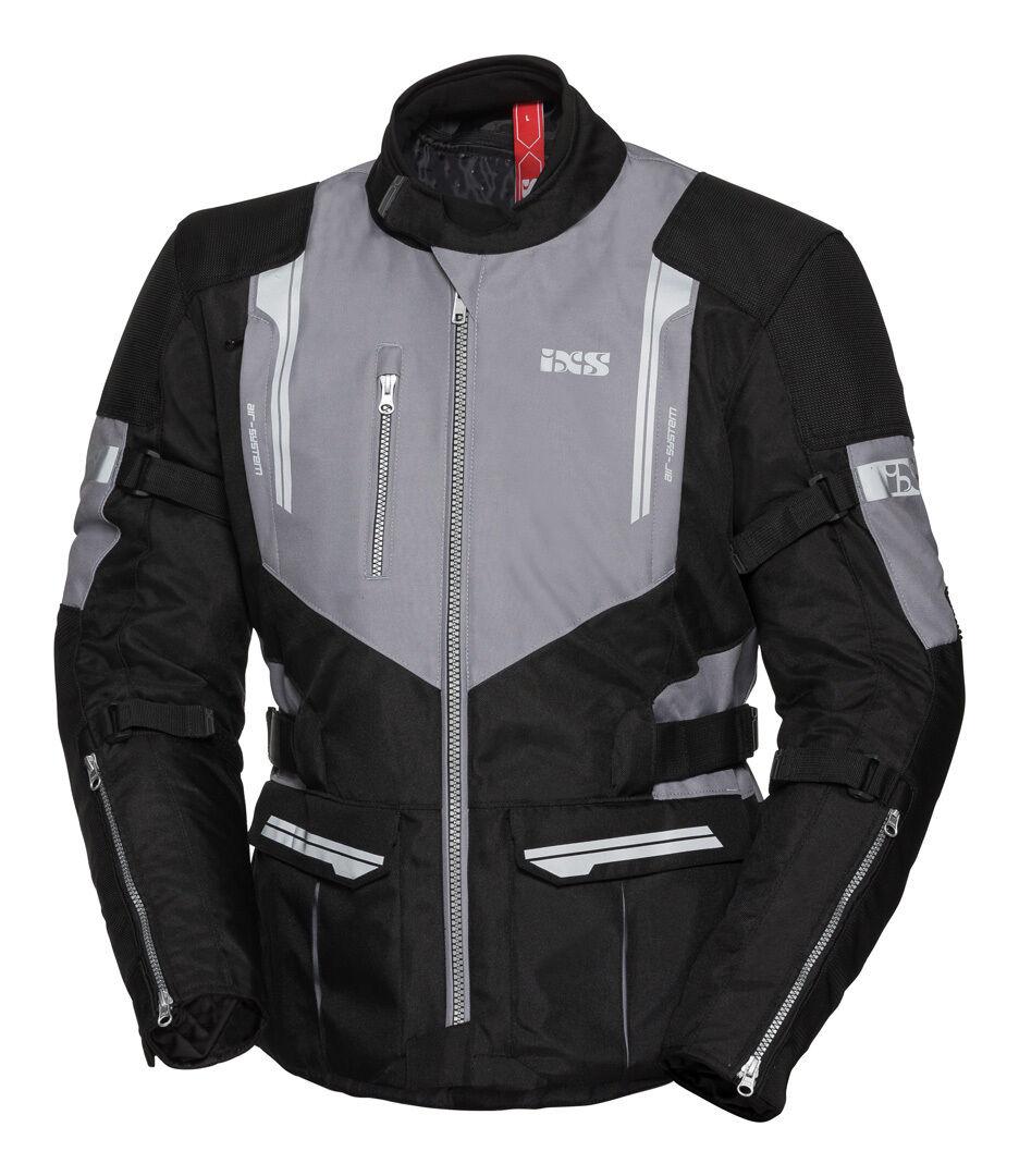 IXS Tour ST Veste Textile moto Noir Gris taille : 4XL