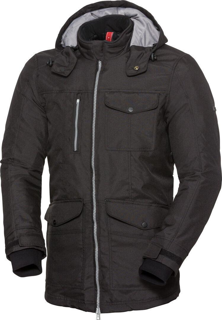 IXS Classic Urban-ST Veste textile de moto imperméable à l'eau Noir taille : S