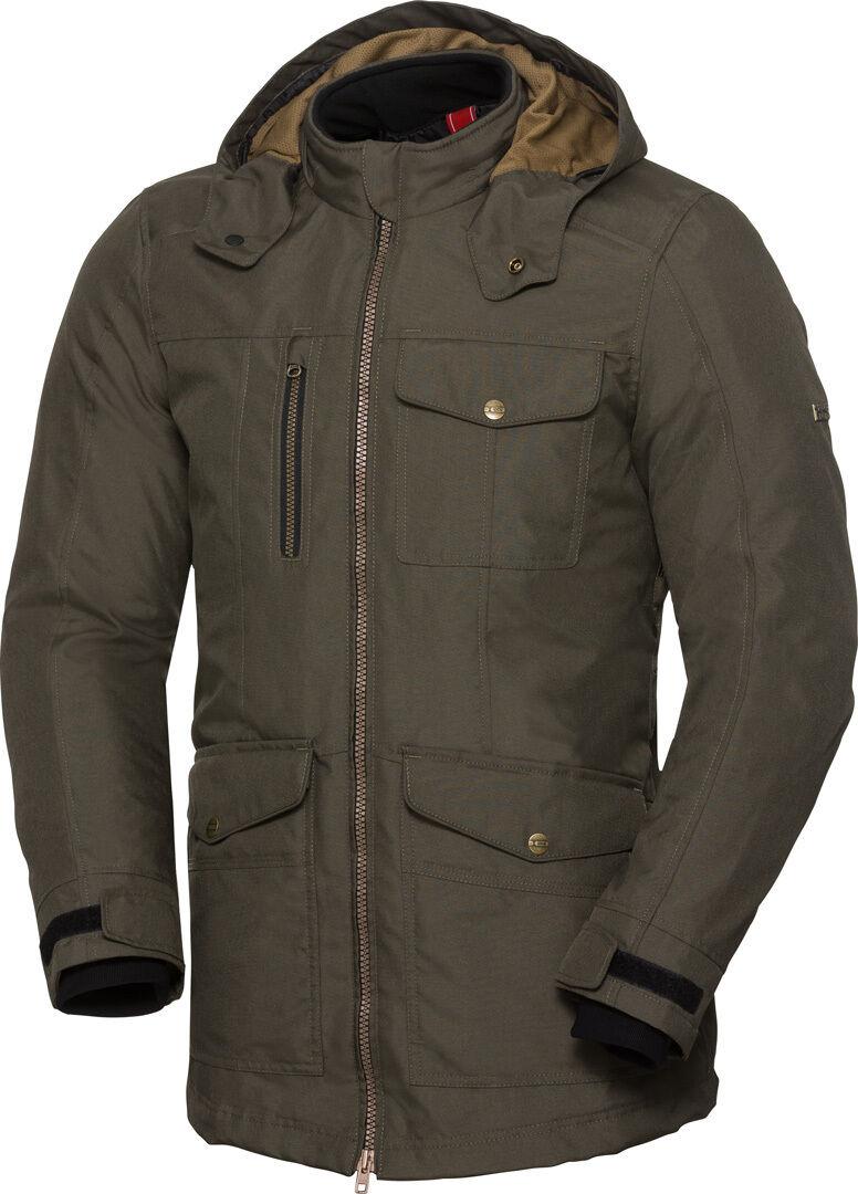 IXS Classic Urban-ST Veste textile de moto imperméable à l'eau Vert taille : L