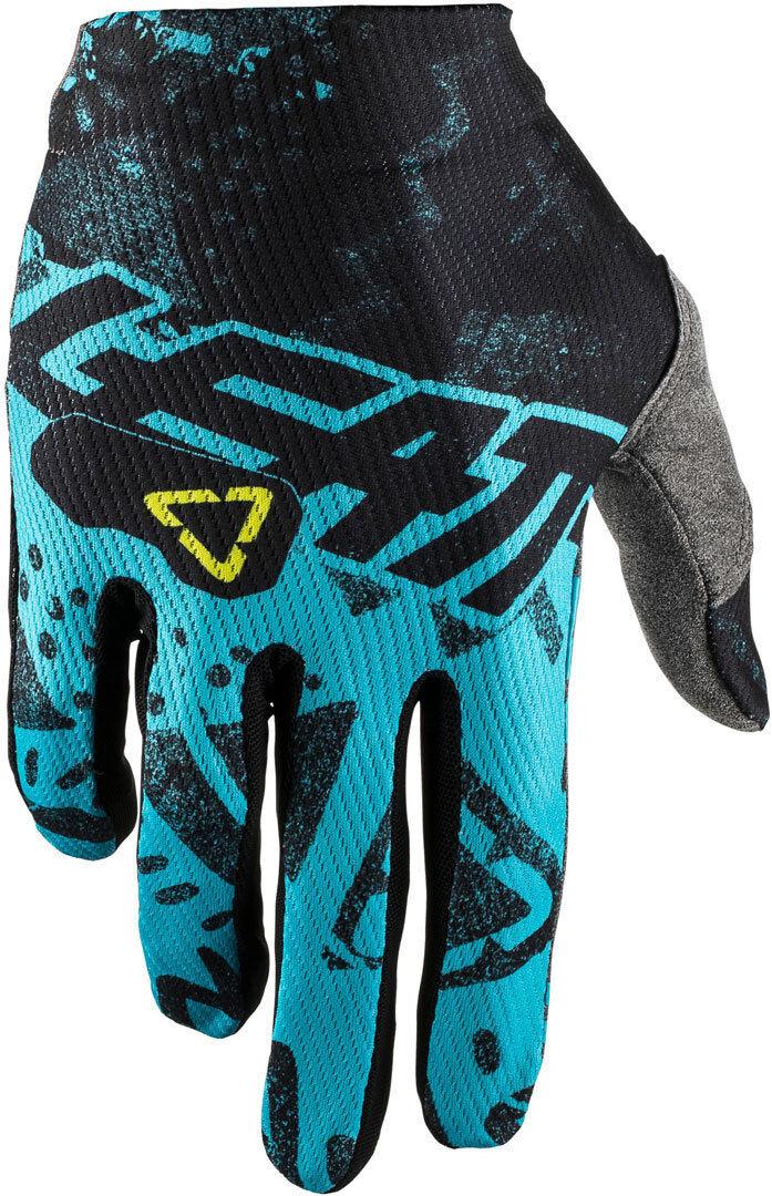 Leatt GPX 1.5 GripR Tech Gants de motocross Bleu taille : 2XL