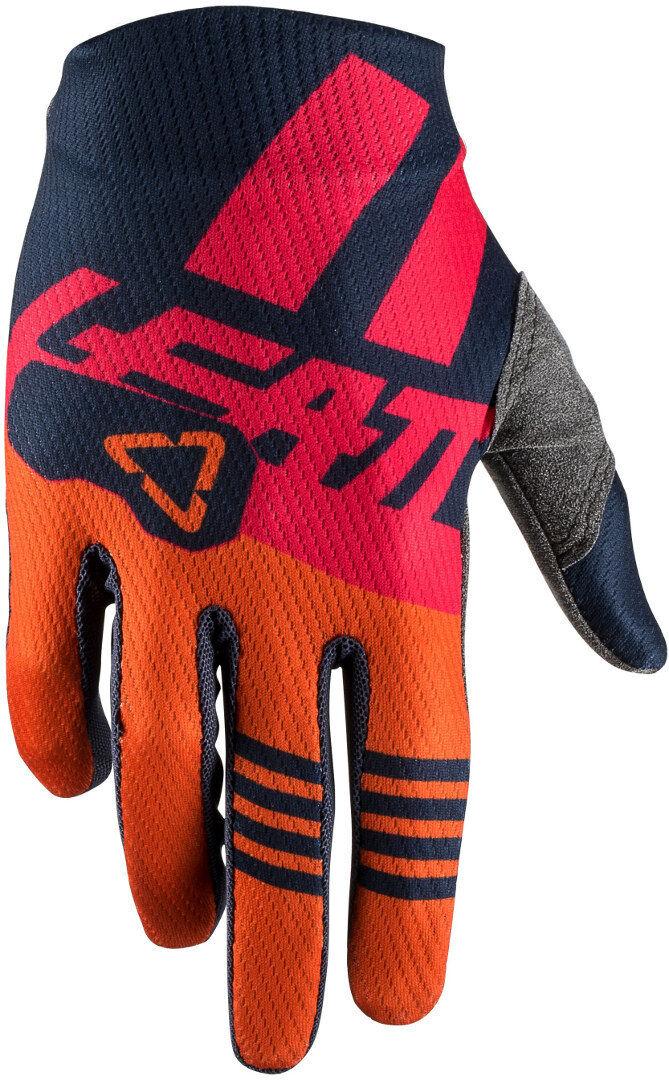 Leatt GPX 1.5 Ink Gants de Motocross enfants Bleu Orange taille : M