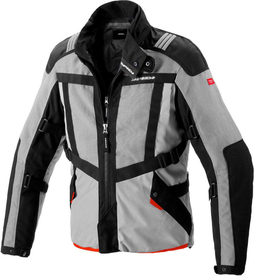 Spidi Netrunner H2Out Veste Textile moto Noir Gris taille : S