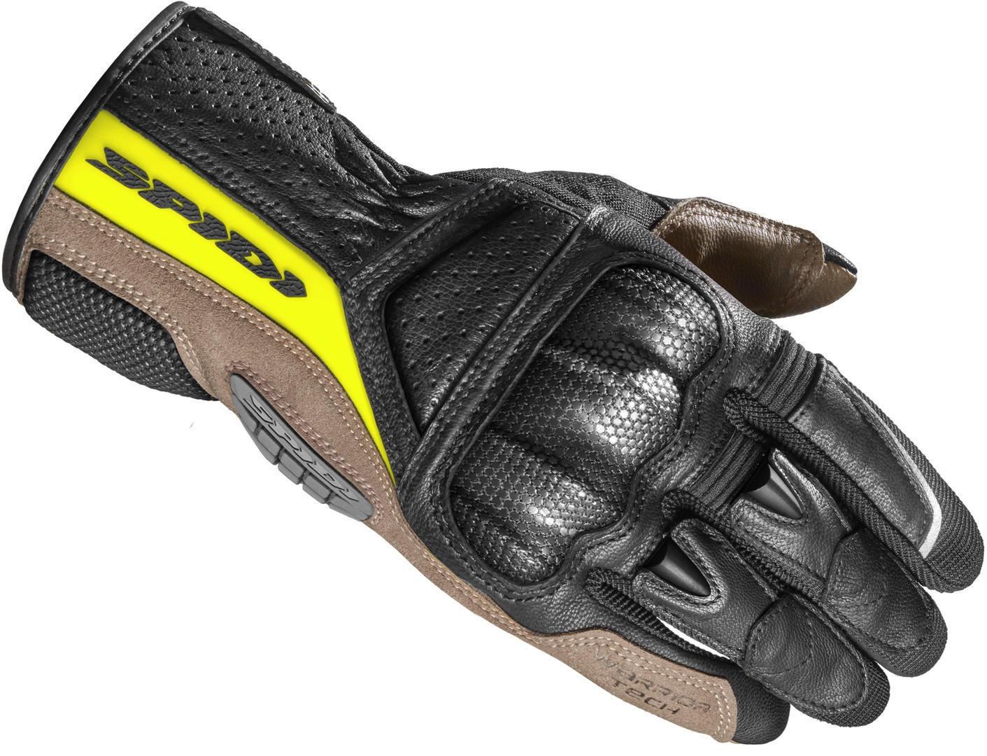 Spidi TX-Pro Gants de moto Noir Jaune taille : M