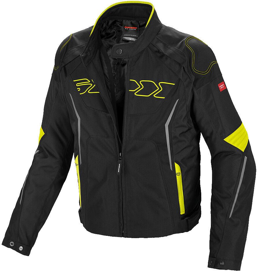 Spidi Tronik Tex Veste Textile moto Noir Jaune taille : L