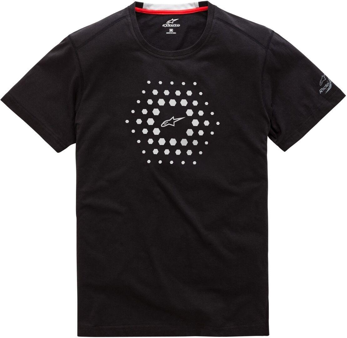 Alpinestars Burst Ride Dry T-Shirt Noir taille : 2XL