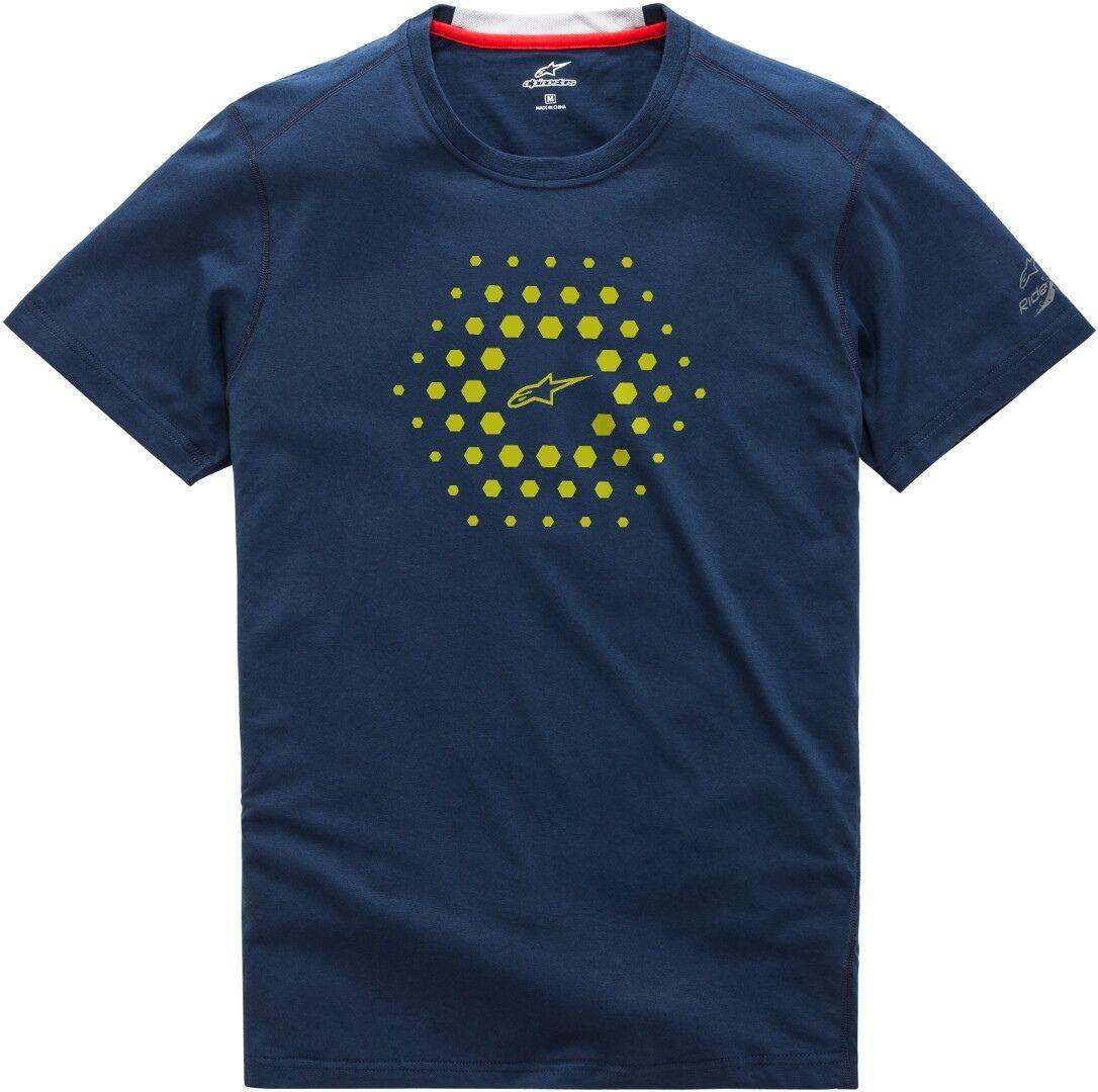Alpinestars Burst Ride Dry T-Shirt Bleu taille : 2XL