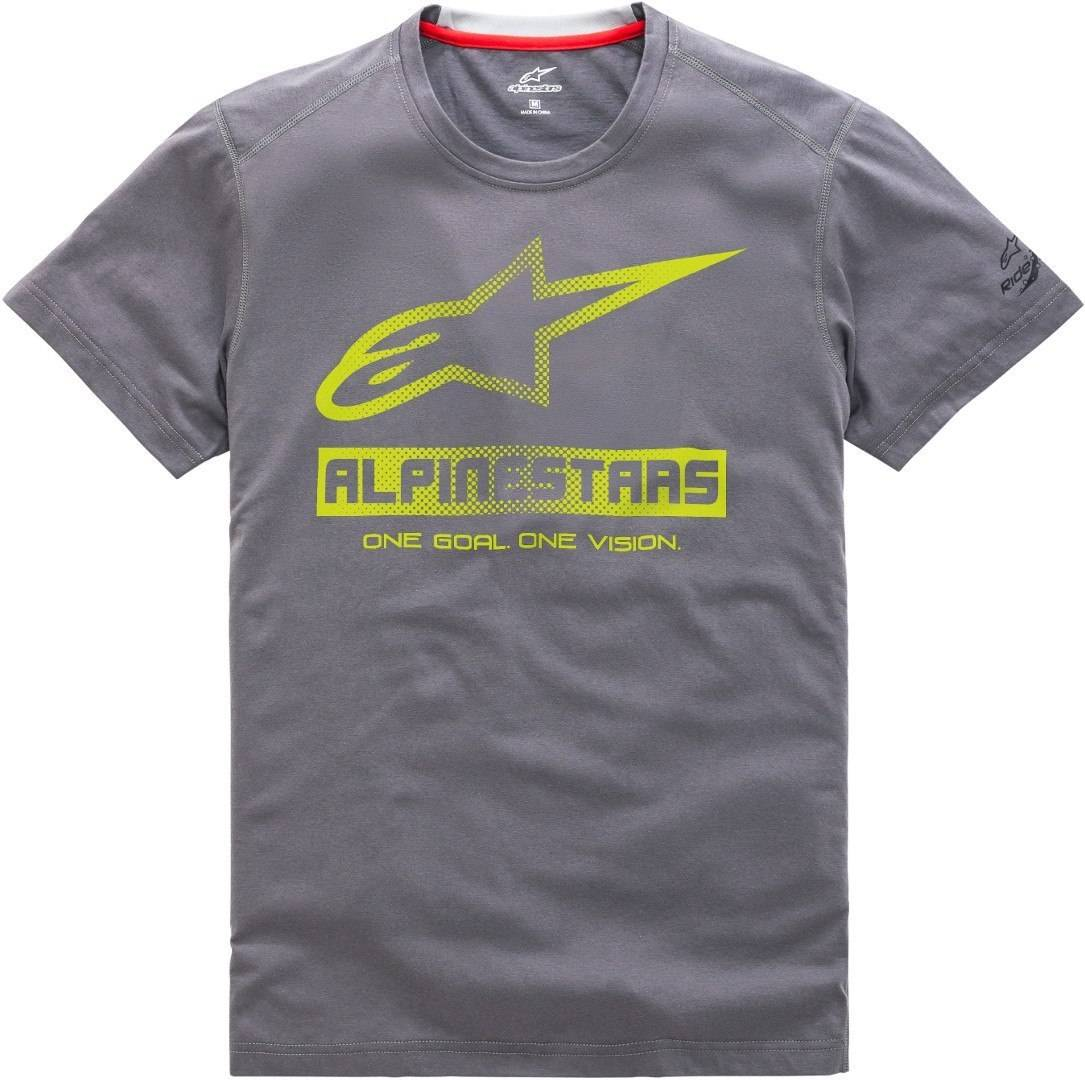 Alpinestars Source Ride Dry T-Shirt Gris taille : L
