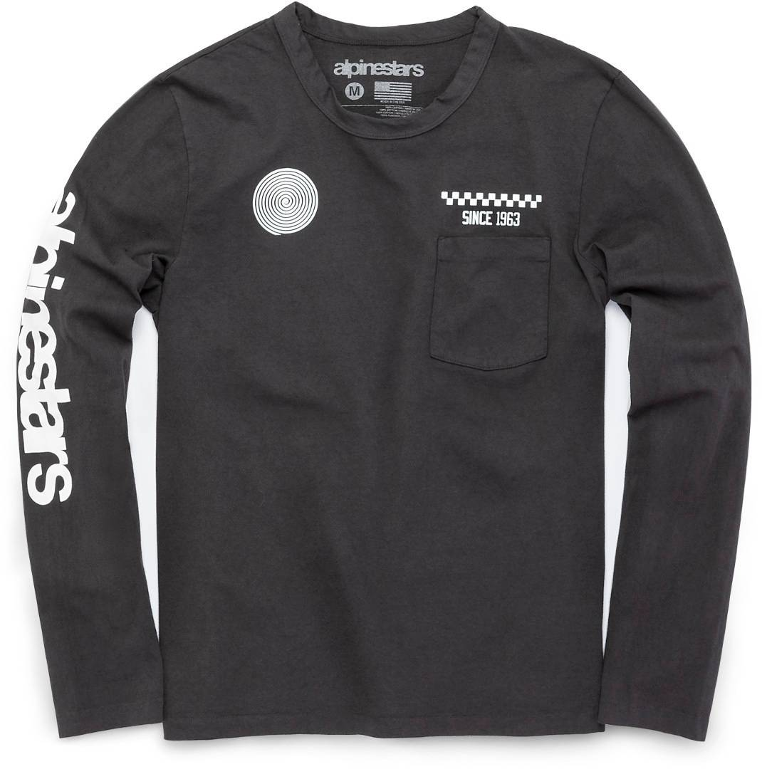 Alpinestars The Real Deal T-shirt à manches longues Gris taille : 2XL