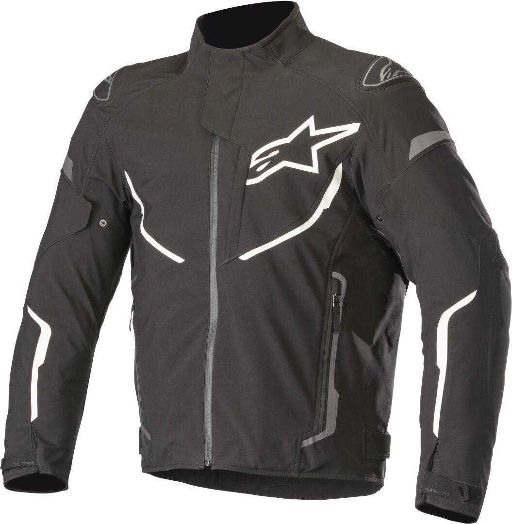 Alpinestars T-Fuse Sport Veste textile de moto imperméable à l'eau Noir taille : 2XL