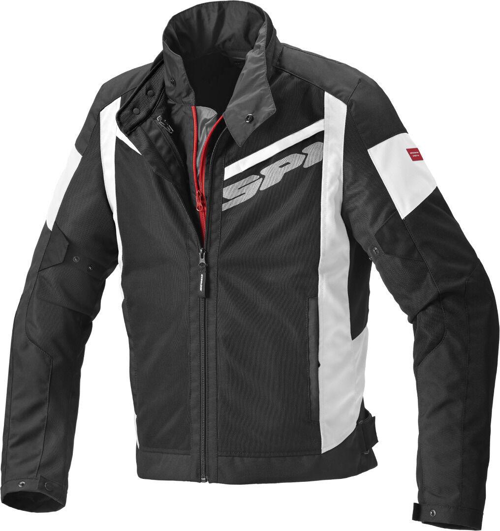 Spidi Breezy Net H2Out Veste textile moto Noir Blanc taille : M