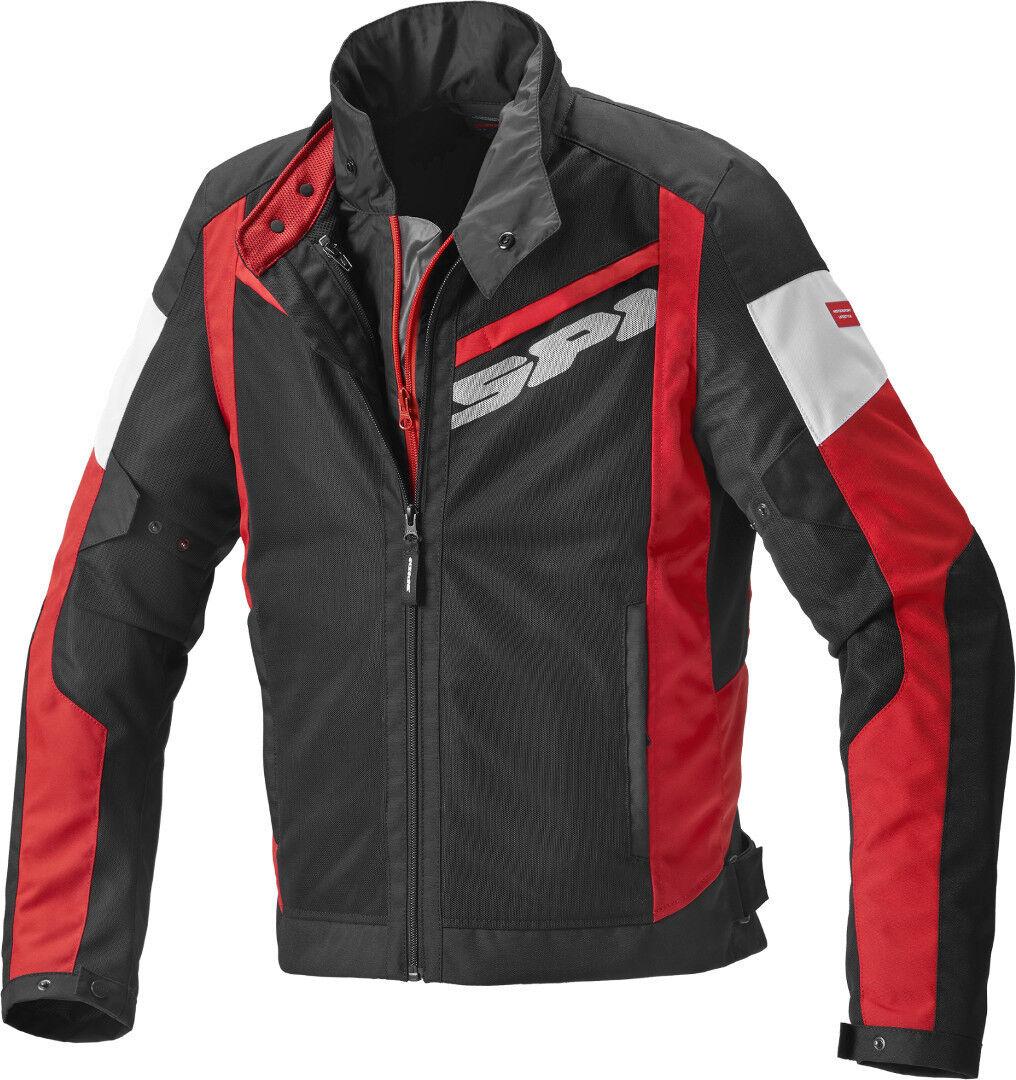 Spidi Breezy Net H2Out Veste textile moto Noir Rouge taille : L