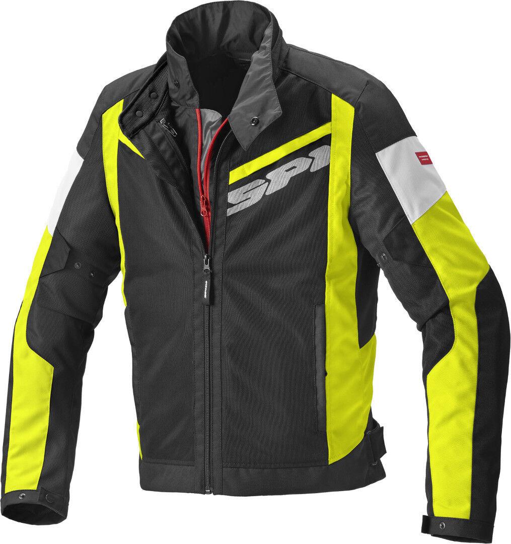 Spidi Breezy Net H2Out Veste textile moto Noir Jaune taille : M