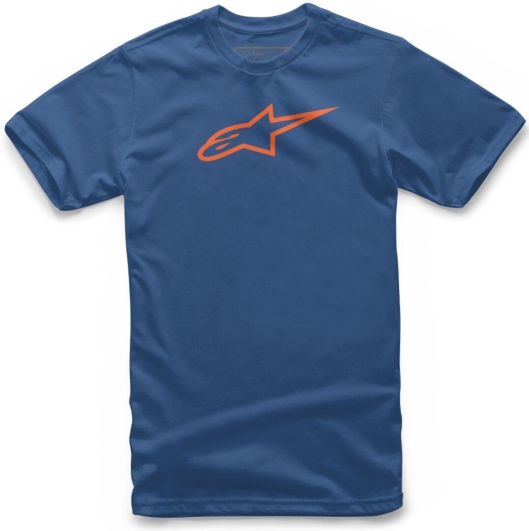 Alpinestars Juvy Ageless T-Shirt pour enfants Bleu Orange taille : 5 - 6
