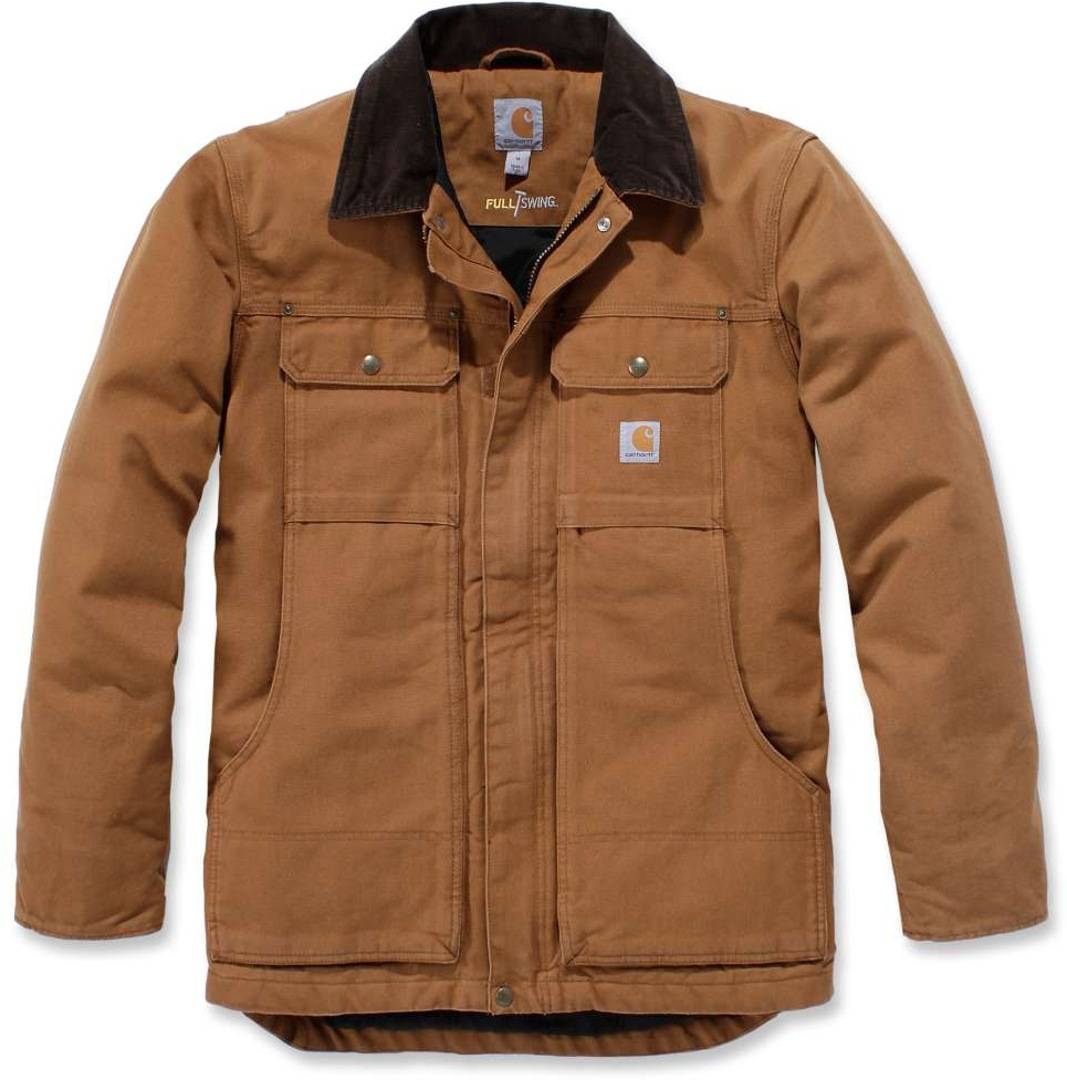 Carhartt Full Swing Traditional Coat veste Brun taille : S