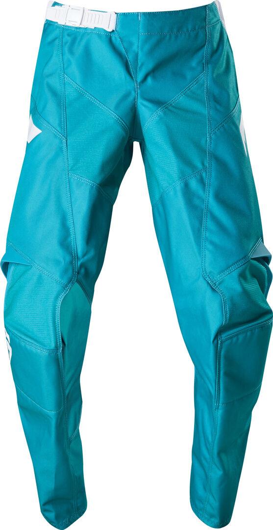 Shift Whit3 Label Race Pantalon Motocross pour enfants Blanc Vert taille : 28