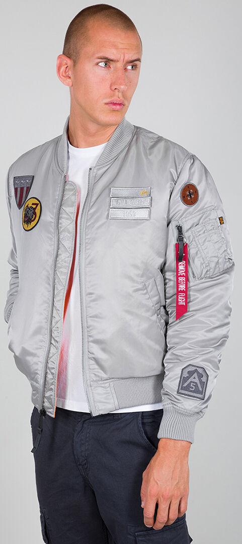 Alpha Industries MA-1 Air Force veste Argent taille : 3XL