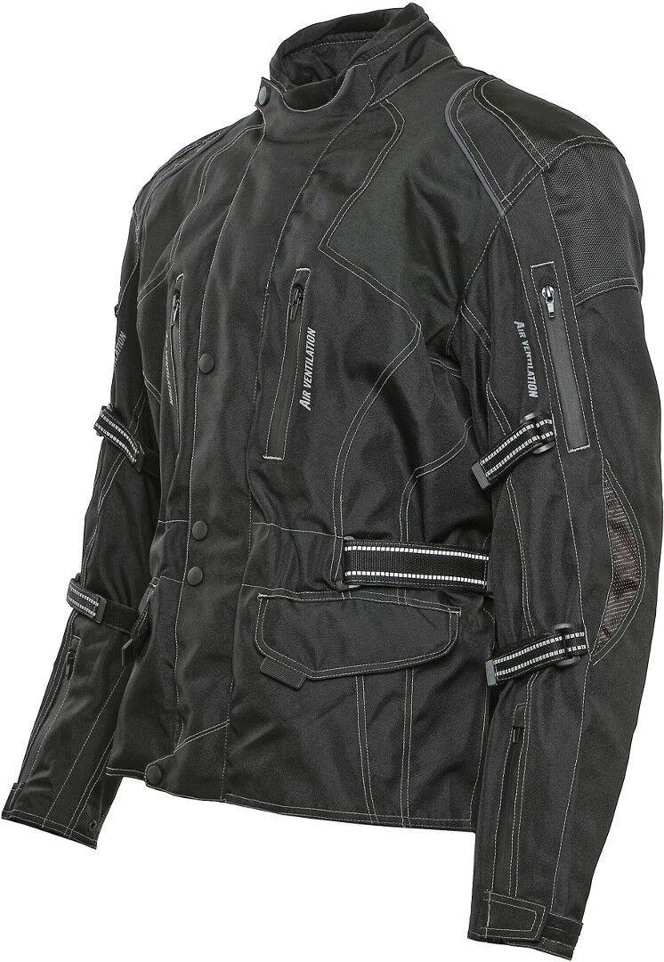 Bores Emilio Touring Veste textile de moto Noir taille : 6XL