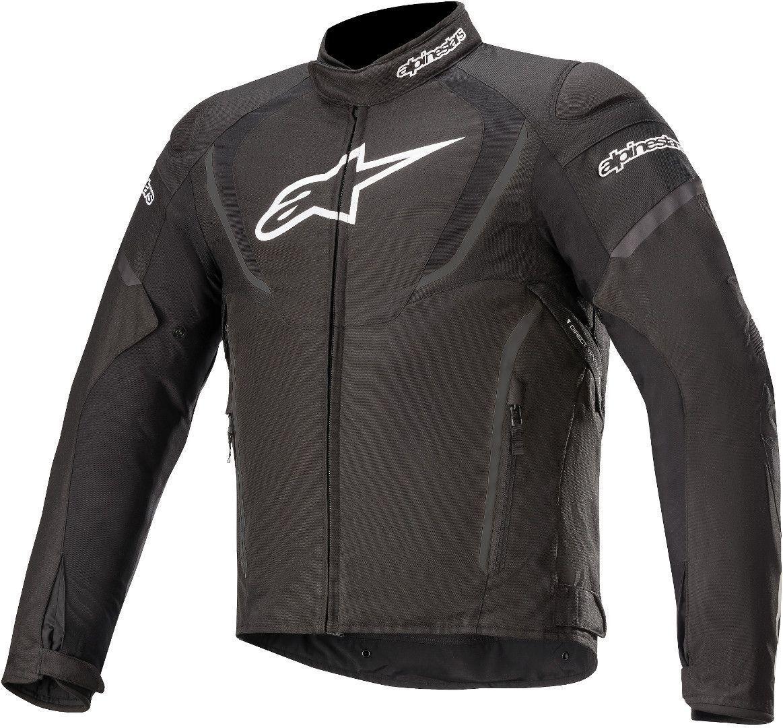 Alpinestars T-Jaws V3 Veste textile de moto imperméable à l'eau Noir taille : S