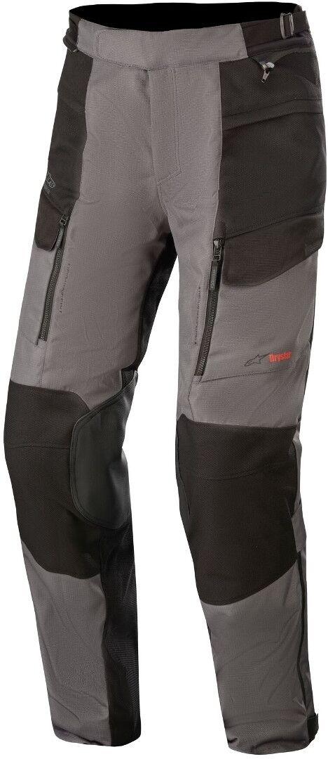Alpinestars Valparaiso V3 Drystar Pantalon textile de moto Noir Gris taille : L
