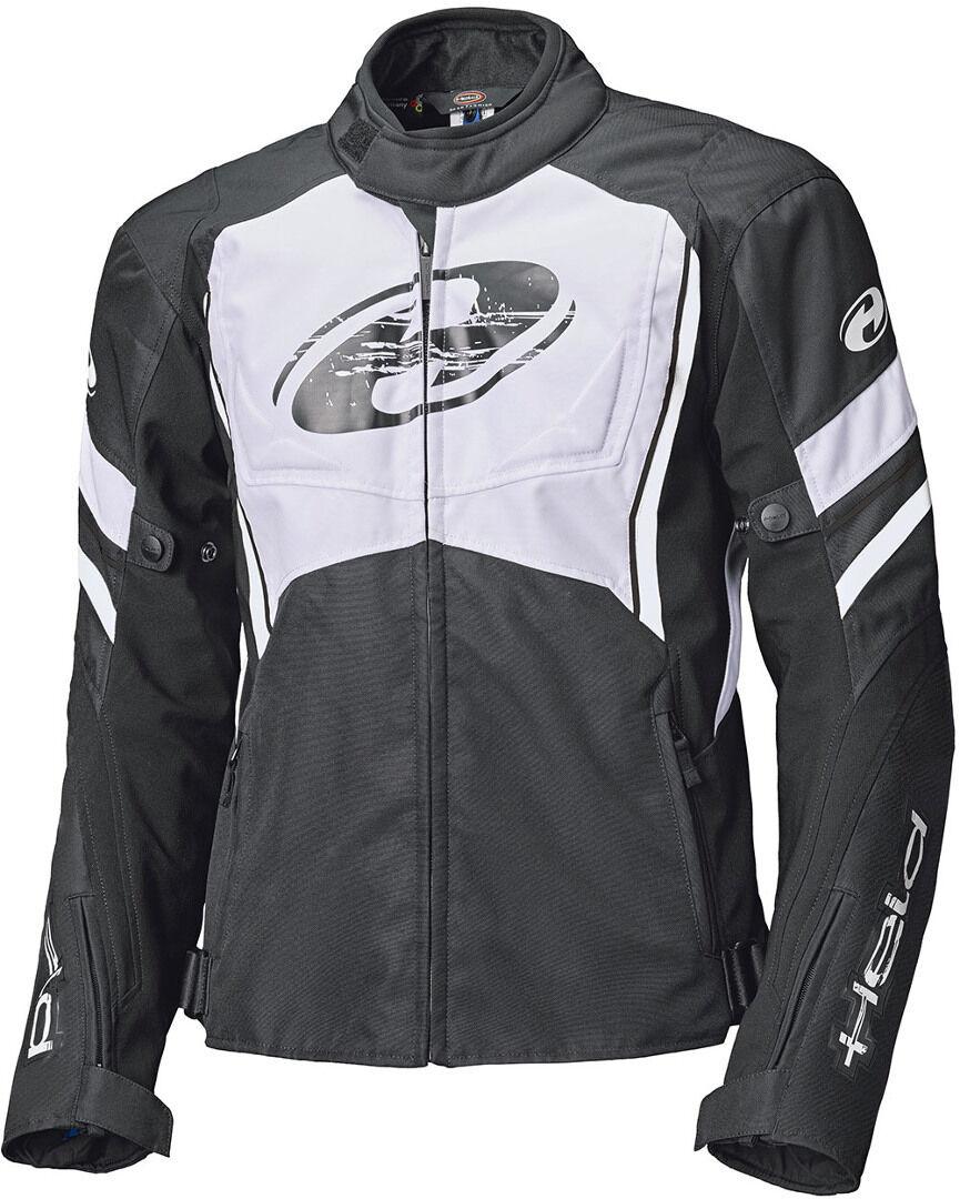 Held Baxley Top Veste textile de moto Noir Blanc taille : 5XL