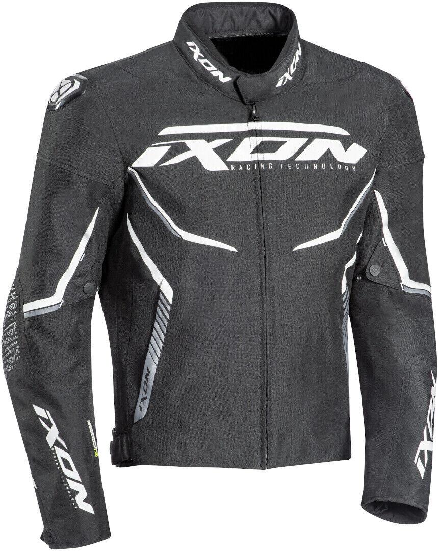 Ixon Swinter Sport Veste textile de moto Noir Blanc taille : XL