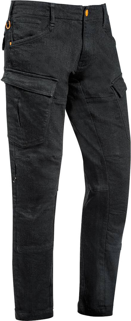 Ixon Cargo Pantalon textile de moto Noir taille : XS