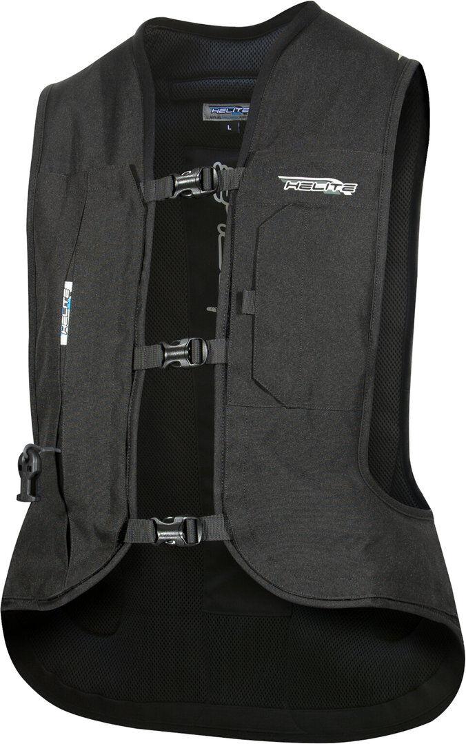 Helite Turtle 2.0 Airbag Veste noire Noir taille : S