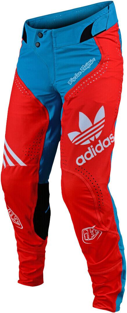 Troy Lee Designs SE Ultra Ltd Adidas Team Pantalon Motocross Gris Bleu taille : 34
