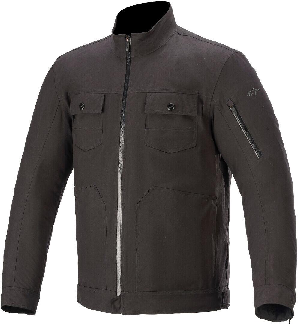 Alpinestars Solano Veste textile de moto imperméable à l'eau Noir taille : 4XL