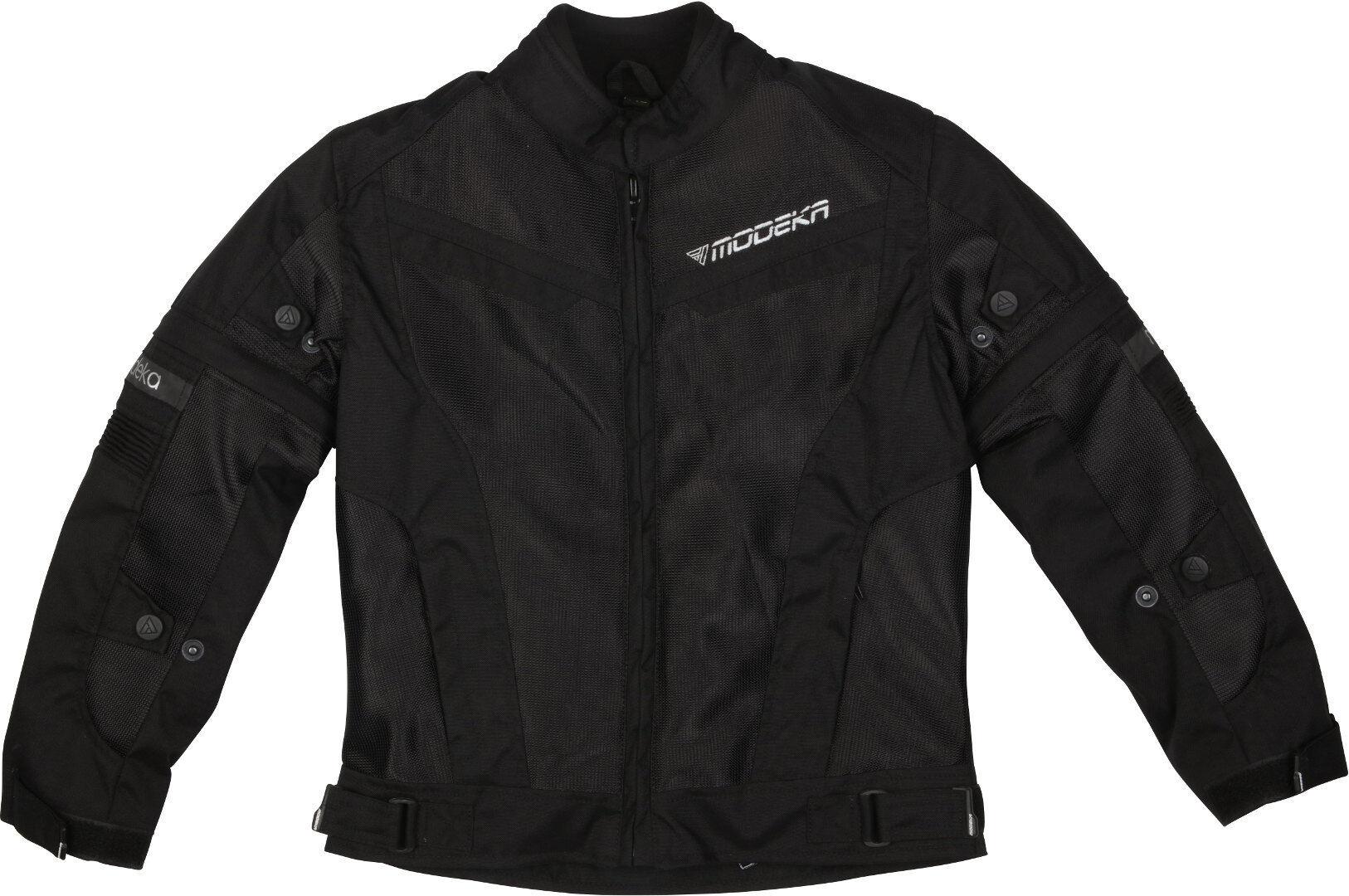 Modeka X-Vent Veste textile de moto pour enfants Noir taille : M 164