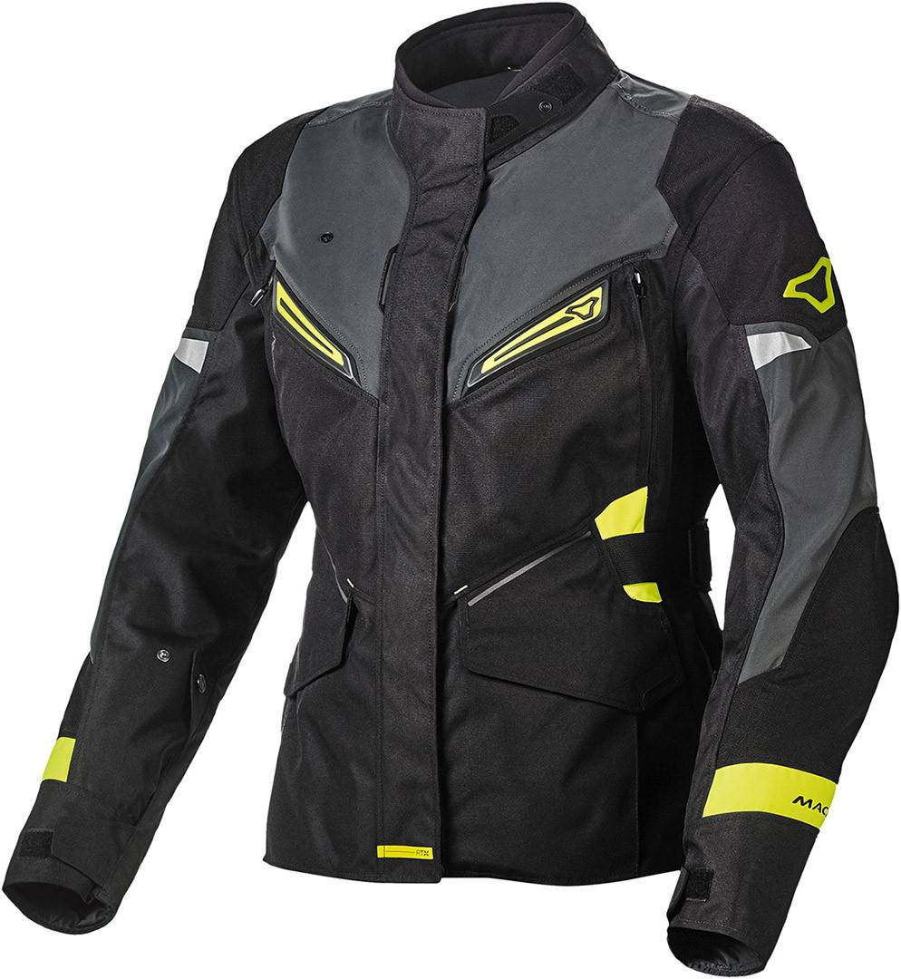 Macna Sonar NightEye Veste textile de moto dames Noir taille : L