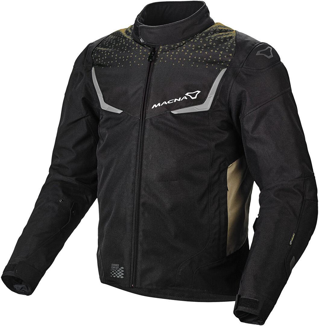 Macna Durago Veste textile de moto Noir Brun taille : L