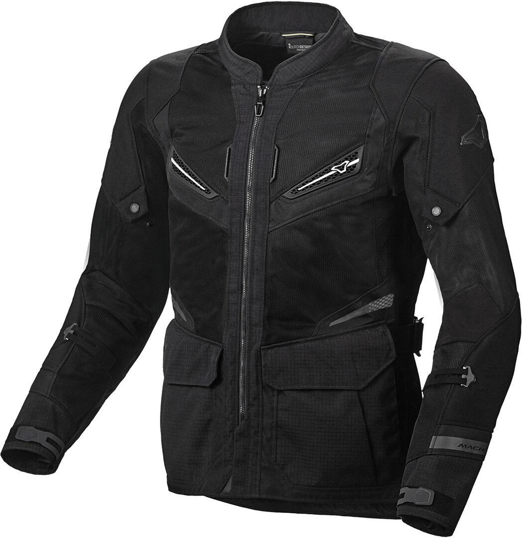 Macna Aerocon Veste textile de moto Noir taille : XS