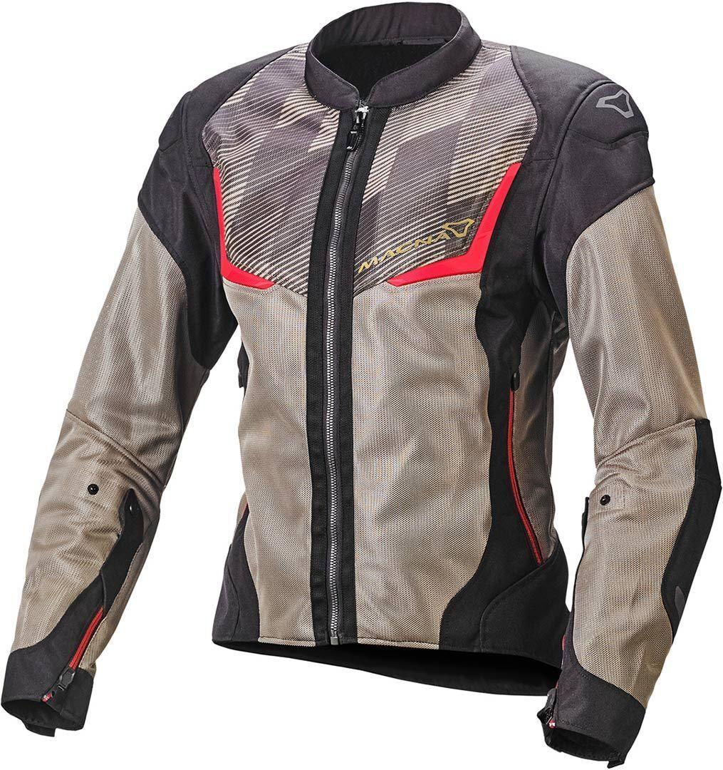 Macna Orcano Veste textile de moto dames Noir Brun taille : 2XL