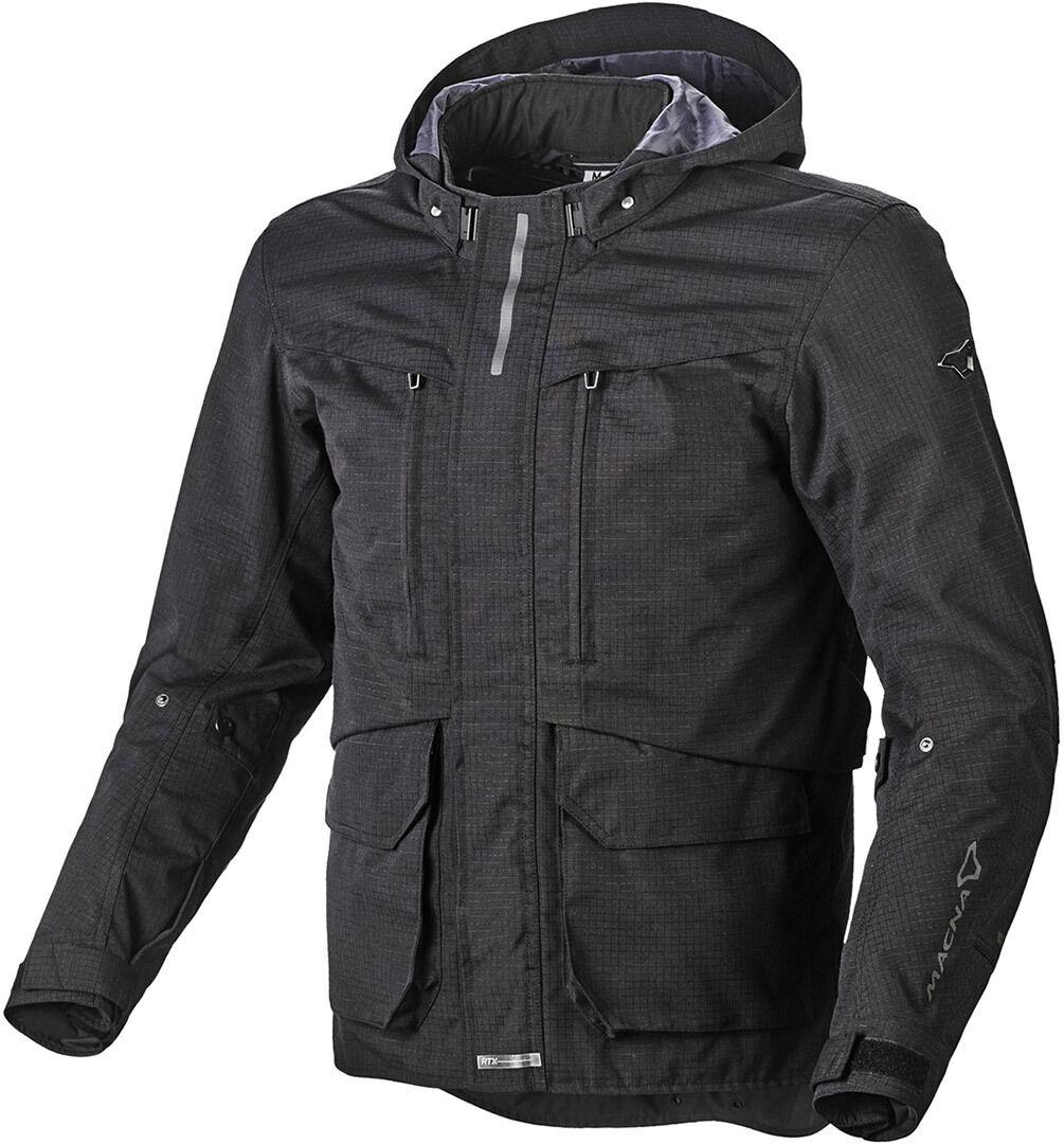 Macna Rival Veste textile de moto Noir taille : S