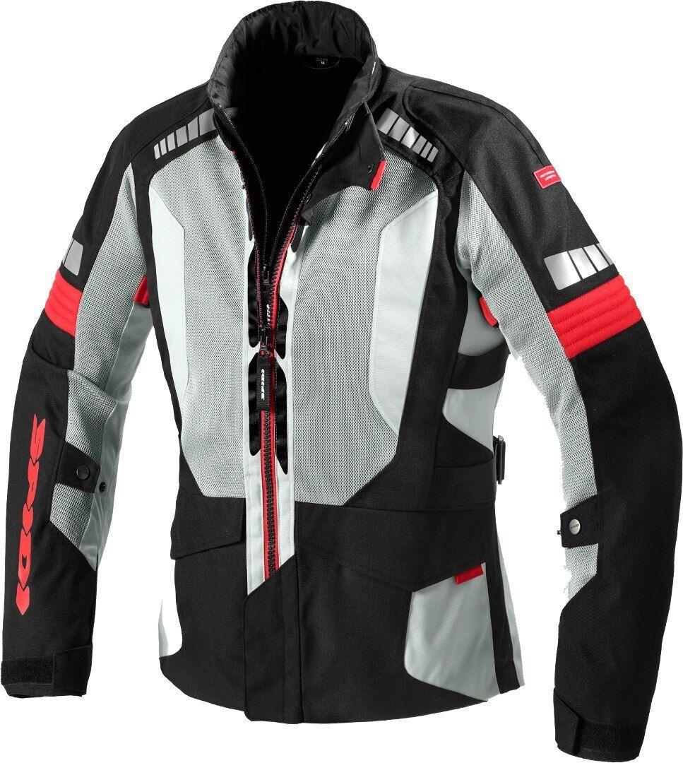 Spidi Terranet Veste textile de moto Noir Gris Rouge taille : XL