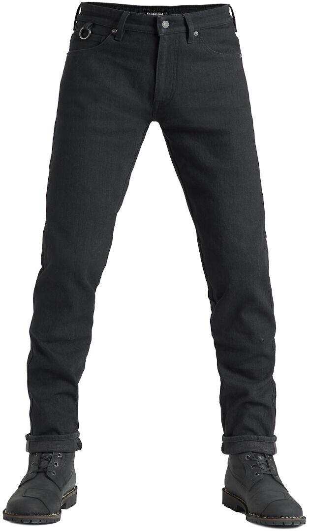 Pando Moto Steel Black 02 Jeans de moto Noir taille : 30